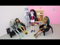 Episodio 641 - Cómo hacer zapatos o zapatillas para las muñecas monster high - YouTube