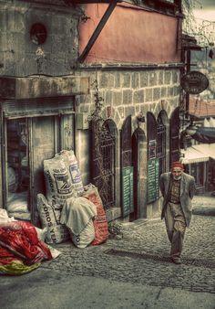 Ankara Kalesi Sokakları