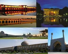 Isfahan (Persian: اصفهان‎ Esfahān pronunciation (help·info)), historically also rendered in English as Ispahan, Sepahan or Hispahan, is the capital of Isfahan Province in Iran, Iran, Global Village, True Beauty, Marina Bay Sands, Asia, Vacation, Mansions, History, Architecture