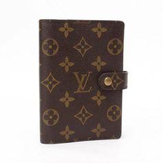 Louis Vuitton Agenda PM Monogram Other Brown Canvas R20005