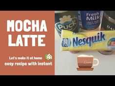 Instant Coffee Davidoff espresso - How make a cafe mocha Espresso Recipes, Coffee Recipes, Mocha Recipe, Cafe Style, Fresh Milk, Instant Coffee, Dessert Drinks, Pop Tarts, Latte