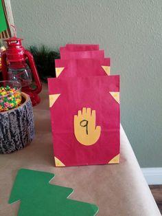 Gravity Falls goody bags