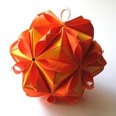 Origami Flower Ball. $40,00, via Etsy.