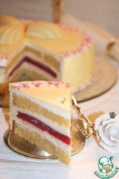 """Торт """"Белый трюфель"""" - кулинарный рецепт"""