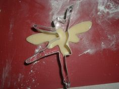 DIY fairy cookie from dragonfly and ballerina cookie cutters....how to