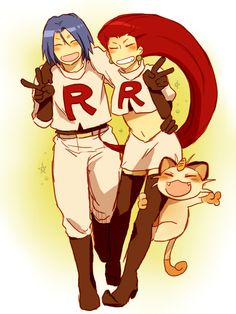 TEAM ROCKET BLASTS OFF IN THE SPEED OF LIGHT! SURRENDER NOW OR PREPARE TO FIGHT! MEOWTH THAT'S RIGHT!