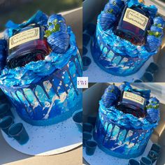 Alcohol Birthday Cake, 15th Birthday Cakes, Alcohol Cake, Funny Birthday Cakes, Special Birthday Cakes, Custom Birthday Cakes, Beautiful Birthday Cakes, Birthday Ideas, Wedding Cake Centerpieces