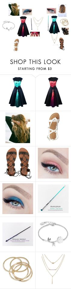 """""""Untitled #779"""" by girlwithnoluck on Polyvore featuring Lulu DK, Charlotte Russe, Billabong, Holy Ghost, Disney, ABS by Allen Schwartz and Pieces"""
