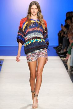 Isabel Marant. Color combo, layering, mixing prints #isabelmarant #fashion #summerfashion