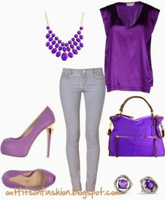 Outfits on Fashion: Casual and Sexy Purple Outfit