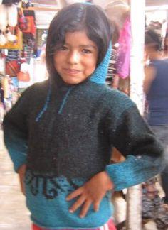 Hellblauer Kapuzen #Kinder #Sweater für #Mädchen von 5-10 Jahre, #Alpakawolle Inka, Sweatshirts, Peru, Sweaters, Fashion, Ponchos, Alpacas, 10 Years, Light Blue
