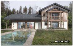 Architekt Maciej Olczak - dom z bala #domzbala #domdrewniany #tradycyjny #nałęczów #świdermajer