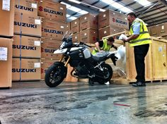 So these arrived! And the new Suzuki V-Strom 1000 adventure bike will be at a dealership near you, as part of a nationwide roadshow. https://www.suzuki-gb.co.uk/motorcycles/about/promotions/v-strom-dealer-tour/wheels-motorcycles/