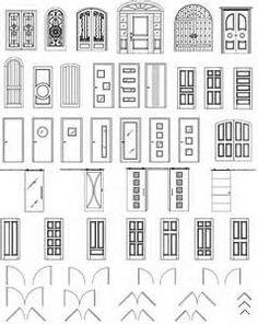 Front Door Drawing best door design ideas-cad door drawings download】download these