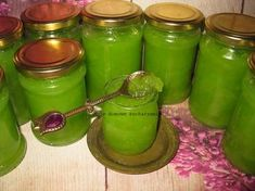 Kiwi, Canning Recipes, Preserves, Pickles, Cucumber, Pesto, Mason Jars, Mugs, Drinks