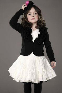 kids fashion, girls fashion, sweater, skirt, tights, fashion, hair