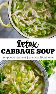 Detox cabbage soup is an simple and easy way to provide your liver just a little take pleasure in. Just a couple easy ingredients. Ready in 20 mins. Helps make servings. Packed with all of the liver restoration food. Gluten no cost.