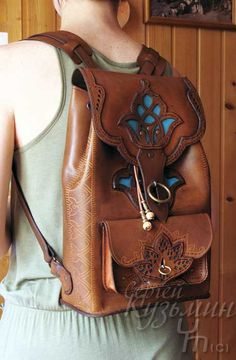 Leather Belt Bag, Leather Backpack, Leather Wallet, Boho Inspiration, Soutache Jewelry, Distressed Leather, Bohemian Jewelry, Leather Working, Boho Earrings