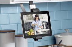 Belkin Kitchen Cabinet Mount Tablet, ipad etc. Kitchen Cabinet Drawers, Kitchen Cabinet Organization, Kitchen Storage, Kitchen Cabinets, Kitchen Appliances, Upper Cabinets, Kitchen Tv, Inside Cabinets, Kitchen Backsplash