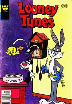 New Looney Tunes Applique Bib Tweety Taz or Bugs Bunny