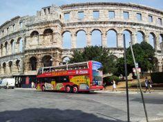 Das Wahrzeichen der Stadt Pula und eins der besterhaltenen antiken Amphitheater der Welt!