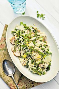 Jarní rizoto s uzeným kuřetem Tofu, Risotto, Fresh, Ethnic Recipes