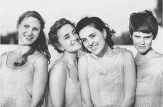 cute bridesmaid pose