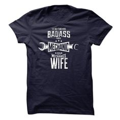 #Funnytshirts... Cool T-shirts  Price :$23.00Buy Now  Low cost Codes View pictures & pictures of Mechanic Wife Limited Edition t-shirts & hoodies:When you do not completely love our design, you'll be able to SEARCH your favourite one through the use of sear...