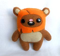 PDF PATTERN Star Wars Ewok Plush Pattern by deadlysweetplushes