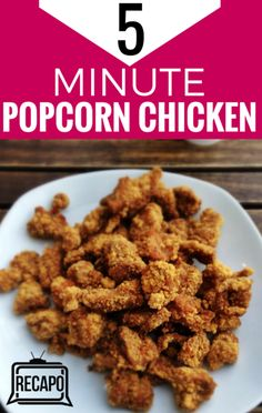 As the hosts of The Chew shared their favorite recipes for food you can eat with your hands, Carla Hall prepared her bite-size Popcorn Chicken.
