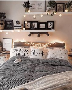 dream rooms for women ~ dream rooms ; dream rooms for adults ; dream rooms for women ; dream rooms for couples ; dream rooms for adults bedrooms ; dream rooms for adults small spaces Cute Bedroom Ideas, Modern Bedroom Decor, Girl Bedroom Designs, Room Ideas Bedroom, Small Room Bedroom, Cozy Bedroom, Small Rooms, Girls Bedroom, Couple Bedroom