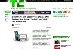 http://techcrunch.com/2013/06/04/dollar-shave-club-butt-wipes/ ... | #Indiegogo #fundraising http://igg.me/at/tn5/