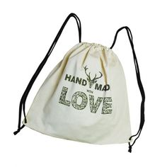 2991b24c4b7e5 PLECAK WOREK TORBA NA ZAKUPY love Drawstring Backpack, Backpacks, Bags,  Design, Handbags
