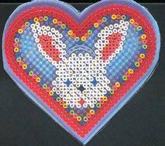 Rabbit  Hama perler pattern