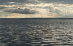 Late afternoon, Puck Bay, Baltic sea
