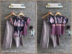 Cullotes & blouse Set. By Gendhi's Batik