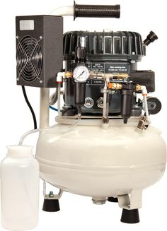 """The Silentaire Val-Air compressors are virtually """"noiseless"""" and are completely automatic."""