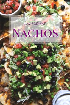 Looking for a FODMAP-freindly appetizer? Try these fully loaded low FOMDAP nachos! Grab the gang for the big game or a family friendly lunch or dinner and get creative! #glutenfree #lactosefree #fodmap #lowfodmap #fodmapformula www.fodmapformula.com