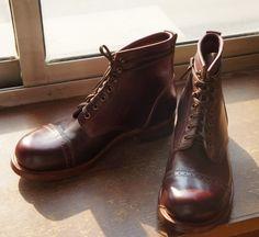 julian (rrl models) the bowery boots beckham