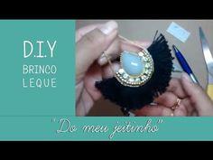 NM Bijoux - Brinco leque - passo a passo - YouTube