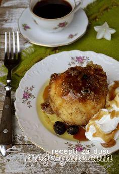 Zapečene punjene dunje - Baked stuffed quinces