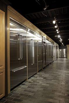 Built-in refrigerators from Viking, Thermador and Liebherr. Kitchen Stuff, Kitchen Ideas, Kitchen Decor, Kitchen Design, Built In Refrigerator, Refrigerator Freezer, Kitchens, Kitchen Appliances, Breakfast Nooks