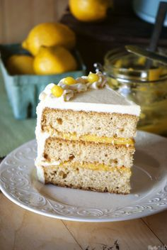 Lemon Drop Cake - Easter dinner dessert!