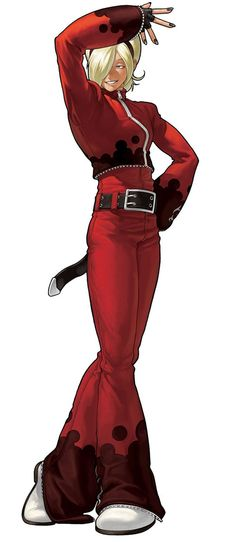Ash Crimson from The King of Fighters XII