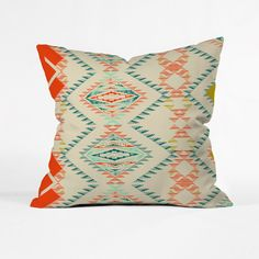 Buy Outdoor Throw Pillow with Marker Southwest designed by Pattern State. One of many amazing home décor accessories items available at Deny Designs. Outdoor Throw Pillows, Decorative Throw Pillows, Textiles, Throw Pillow Sets, Pillow Fight, Pillow Talk, Dot And Bo, Floor Pillows, Red And Blue