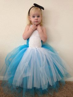 Alice in Wonderland tulle costume