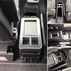 This is a great product if you have captains seats in the front of your vehicle. Our Centre Console Storage Unit is perfect for organising all your personal gadgets such as phone, drinks, loose change and more. Campervan Storage Ideas, Camper Storage, Vw T5 Interior, Campervan Interior, Vw Transporter Camper, Bus Camper, Vw Bus, Vw California Beach, Custom Center Console
