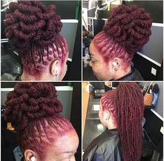 Loc / pipe cleaner bun