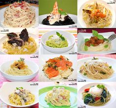 Doce recetas de espaguetis y tallarines