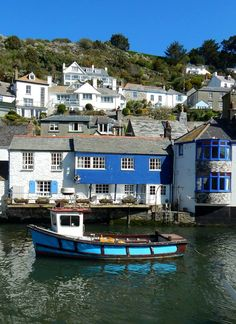 Looe, Cornwall, England. Looe is situated on both sides of the River Looe and…
